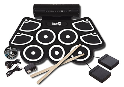 RockJam Electronic Roll Up MIDI Drum Kit Review