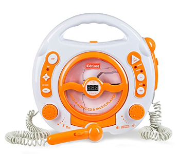 Kids Portable Sing Along CD, MP3, and USB Player Review