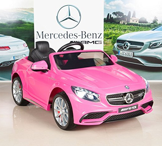 Mercedes-Benz S63 12V Electric Power Wheels RC Review