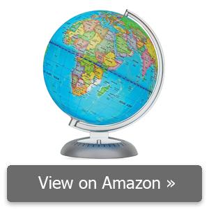 Little Experimenter Illuminated World Globe review