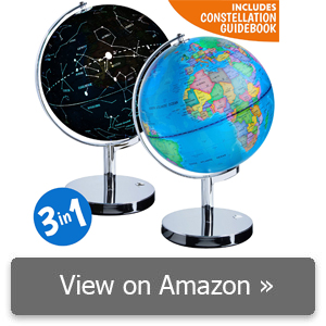 USA Toyz 3-in-1 Illuminated World Globe Review