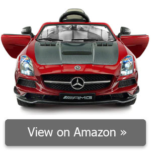 Moderno Kids Carbon Red SLS AMG Mercedes Benz review