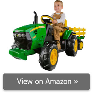 Peg Perego John Deere Ground Force Tractor with Trailer review