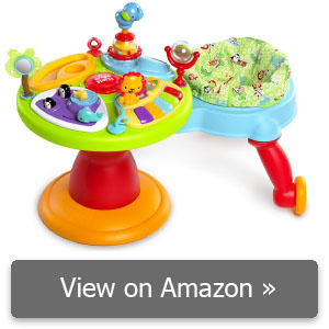 3-in-1 Around We Go Activity Center review