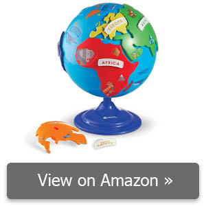 Learning Resources Puzzle Globe review