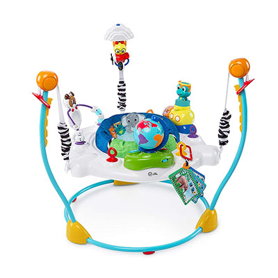 Baby Einstein Journey of Discovery – Best Jumper for Babies with Light and Melodies (table)