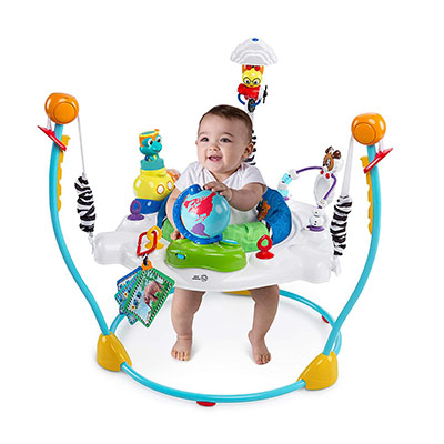 Baby Einstein Journey of Discovery – Best Jumper for Babies with Light and Melodies