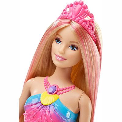 Barbie Dreamtopia Rainbow Lights Mermaid Doll, Blonde - Best for LED Rainbow Light Mermaid and Magical Effect