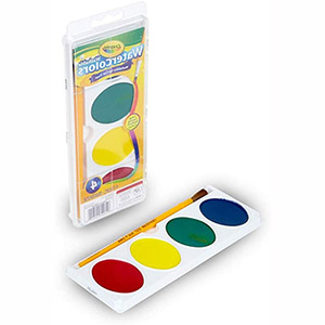 Binney & Smith Crayola Washable Watercolor Set (table)