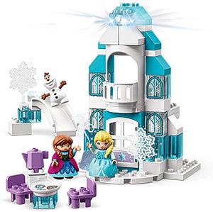 Building Blocks – Disney's Frozen Ice Castle in 59 Pieces (table)