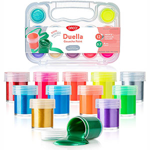 Daco Kids Paint Set (table)