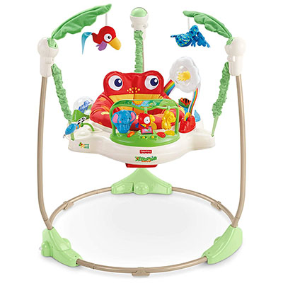 Fisher-Price Rainforest Jumperoo – Best Jumper for Babies (table)