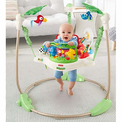 Fisher-Price Rainforest Jumperoo – Best Jumper for Babies