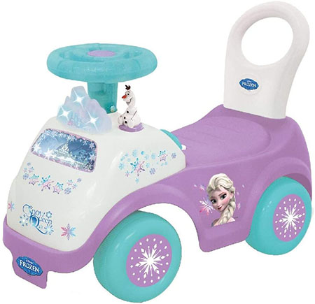Kiddieland Toys Limited (Disney Frozen) - A Study and Balanced Activity Ride-on