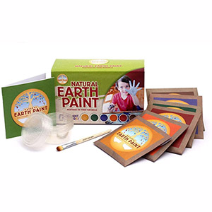 Natural Earth Paint Kit for Children (table)