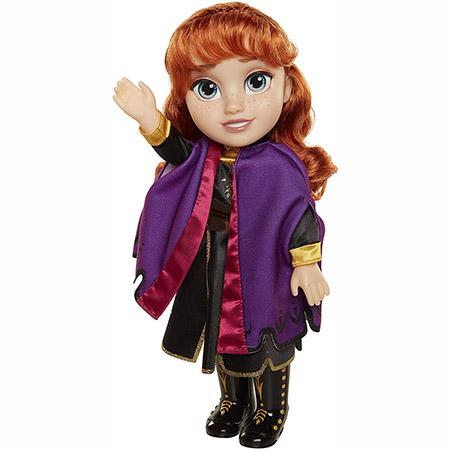 Disney Frozen 2 Anna Travel Doll - A Perfect Gift for Frozen Fans