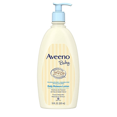 Aveeno Baby Daily Moisture Lotion – Best Value (table)