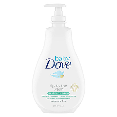 Baby Dove Tip to Toe Baby Wash – Best All Natural (table)