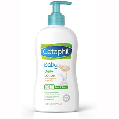 Cetaphil Baby Daily Lotion – Best Softener (table)