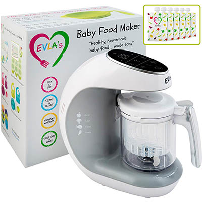 Elva's Baby Food Maker – Nppa Award Winner (table)