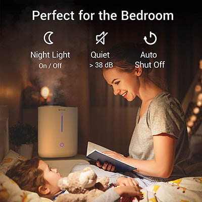 Geniani Top Fill Humidifier – Best Smart Mode Humidifier