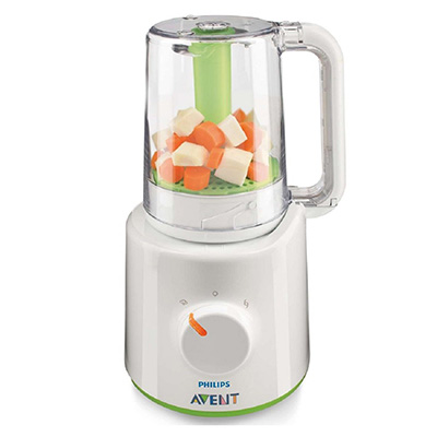 Philips Avent Food Processor - SCF870/21 – Best Blend And Steam Blender (table)