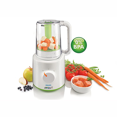 Philips Avent Food Processor SCF870/21 – Best Blend And Steam Blender
