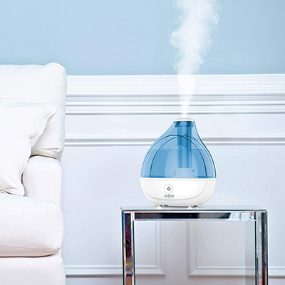 Pure Enrichment MistAire Ultrasonic Humidifier – Best All-Around and Automatic Settings