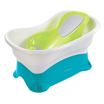 Summer Comfort - Offers ultimate bath time convenience (table)