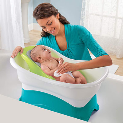 Summer Comfort Infant Height - Offers Ultimate Bath Time Convenience
