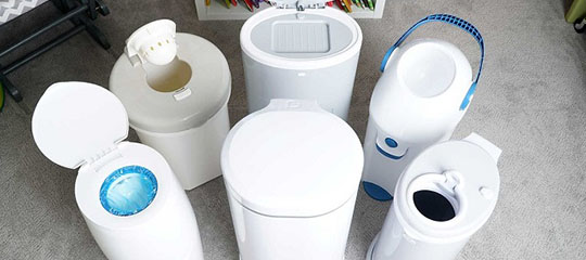 Best Garbage Can for Diapers - banner